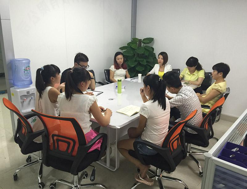 销售部分市场应用会议